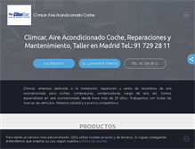 Tablet Preview of aireacondicionado-coches-madrid.es